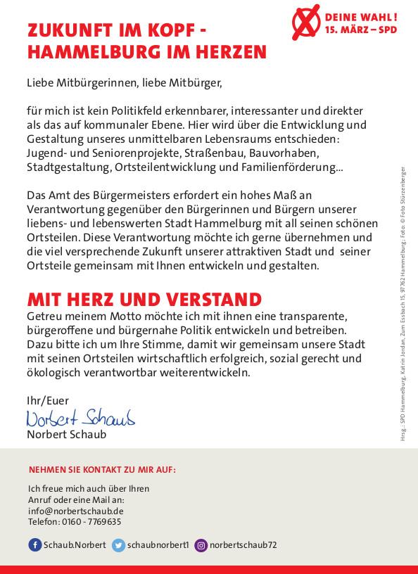 Handzettel Norbert Schaub p2